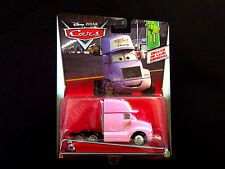 Disney Pixar Cars Vinyl Toupee Truck Cab Mattel Deluxe Die-cast 2017 Pink Semi