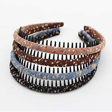 JOBAND Fashion floral teeth Headbands comb Hair Accessories Non-slip Hair bands