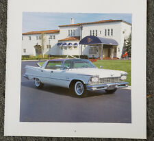 1957 CHRYSLER IMPERIAL CROWN SOUTHAMPTON MAGAZINE ADVERTISEMENT PRINT AD