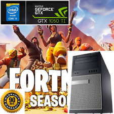 Gaming PC Desktop: Dell Intel Core i5 3.8GHz@GTX 1050Ti 4GB@USB3.0@WiFi@Fortnite