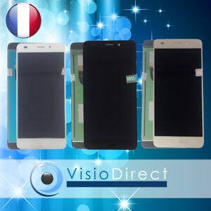 """Ecran pour Huawei Honor 5C 5.2"""" blanc/noir/or vitre tactile + écran LCD"""