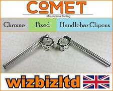 Comet Chrome 48mm Handlebar Clipons Honda CBR600 RR 2005-2015 HC48CH