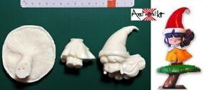 ANIME MODEL RESIN KIT - とんがり帽子のメモル Tongari bōshi no Memoru MEMOLE ON MUSHROOM