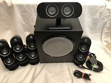 LOGITECH X-530 4 Speaker 1 Center & 1Sub Woofer 3.5mm Surround Sound M/N S-0411A