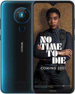 "New Nokia 5.3 Cyan 6.55"" 64GB Dual SIM 4G LTE Android 10 Sim Free Unlocked"