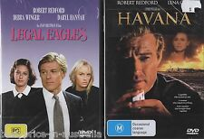 Legal Eagles + Havana DVD 2-MOVIES BRAND NEW ROBERT REDFORD COMEDY ROMANCE R4