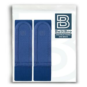 BeltBro Titan - 2 LARGE - BLUE - PAIR - OFFICIAL