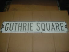Guthrie Square Vintage Street Sign from Sayre, Pa