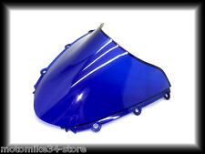 bulle double courbure SUZUKI 1000 GSXR 2006/2008  BLEU /  BLEU WINDSCREEN