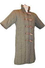 Gambeson - Brown Short Sleeve Medieval Viking Armour Reenactment Jacket