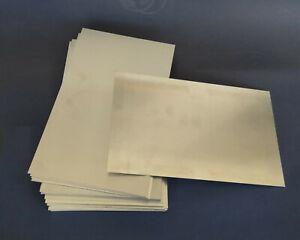 Blech Alu, ca. 26 x 16 cm, 1 mm, Alublech Platte Aluminium