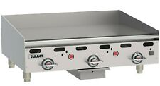 36 Vulcan Gas Griddle With Equipment Stand Model 936rx 101 Thermostatic Controls