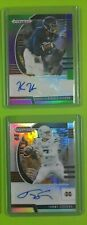 ALL 2020 NFL FOOTBALL AUTO RC INSERTS CONTENDERS PRIZM DRAFT LEGACY #ED PARALLEL