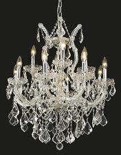 World Capital Maria Theresa 13 Light Dining Crystal Chandelier Light
