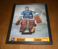 PITTSBURGH PENGUINS LES BINKLEY FRAMED NHL MAGAZINE COVER PRINT