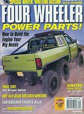 FOUR WHEELER POWER PARTS MAGAZINE DECEMBER 2002, 40th ANNIVERSARY 1962 - 2002