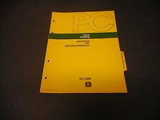 1973 John Deere Parts Catalog No.Pc-1350 523 Agricultural Bulldozer, 6 Pages