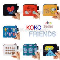 BTS BT21 Official Card Character Pouch Wallet KPOP Merch Item MD Authentic Goods
