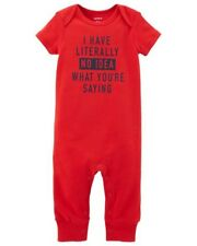 Carter's ~ Pajama / Jumpsuit / Sleep & Play ~ 100% Cotton ~ NWT ~12M