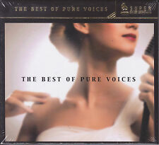 """The Best Of Pure Voices"" Super Deluxe Sound Series Audiophile Vocal CD New"