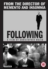 Following Dvd Christopher Nolan Jeremy Theobald New Original Uk Release R2