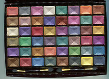 MISS ROSE Pure Mineral Wet/Dry Eye Shadow Palette #2 -48 Colors to Blend NEW!