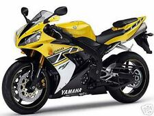 Yamaha 3 Color Retocar Pintura Kit R1 50TH Aniv Amarillo Negro Blanco.