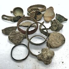 RARE Ancient & Medieval Ring Lot Relics Authentic Artifacts Antiquities Old