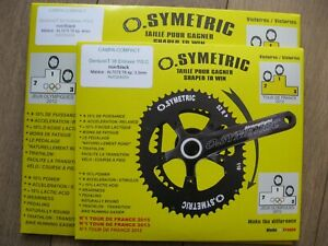 Osymetric Chainrings for Campagnolo crankset: 52/38T BCD110 mm NEW