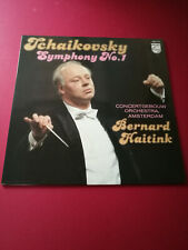 "Tchaikovsky Symphony No. 1 in G minor ""Winter Reveries"" Haitink Philips 9500 777"
