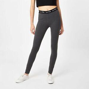 Jack Wills Womens Redbrook Classic Leggings Pants Trousers Bottoms Hooded