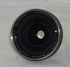 Zenza Bronica Nikkor-H f3.5 50mm Camera Lens