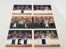 Panini Preferred Booklet New York Knicks Ewing Starks Oakley Anthony Lot (3)