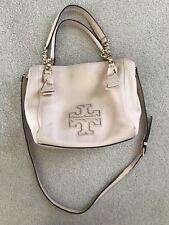 Tory Burch Leather Harper Small Satchel Handbag