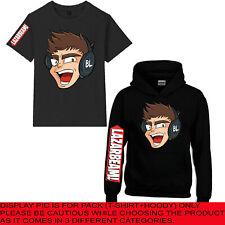 LAZARBEAM Yeet T-Shirt Youtuber Gamer Australian Gaming Kids Top Tee Hoody