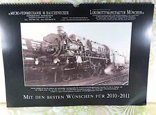 MICRO FEINMECHANIK - Wand-Kalender 2010-2011 - #A10373