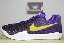 Nike Mamba Instinct Fierce Purple/Black Basketball 852473-500 Men's US 9.5