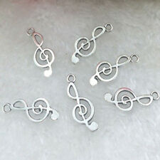 Art Design Tibetan Silver musical note 20 pcs beads Charms Pendant