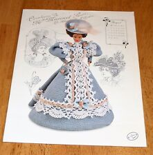 Annie's Crochet Gibson Girl Collection Gay Nineties Miss August 1994 Guc #7708