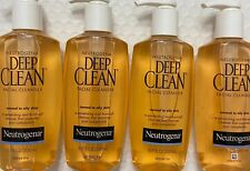 ✦ NEW✦ 4 NEUTROGENA DEEP CLEAN FACIAL CLEANSER NORMAL TO OILY SKIN FREE SHIPPING
