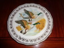 Gainsborough Fine China Collectors Plate Ducks Or Geese
