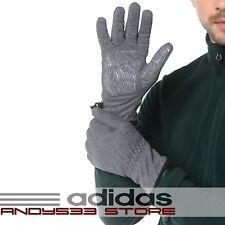 $85 adidas Fleece Gloves Anti Slip Grippy Palm Thermal Warm Winter Drive Men 7 S