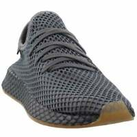 adidas Deerupt Runner Lace Up Sneakers  Casual   Sneakers Grey Mens - Size 12 D