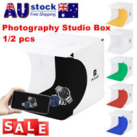 PULUZ Mini LED Portable Photo Studio Photography Light Tent Backdrop Cube 7v