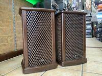 SANSUI SF-2 Original Omni-Radial Sound 2 Way Speakers 65 Watts Legendary Vintage