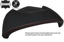 RED STITCH CLUSTER HOOD LEATHER COVER FOR SATURN SKY PONTIAC SOLSTICE OPEL GT
