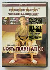 New Sealed Lost in Translation (Dvd, 2003) Widescreen