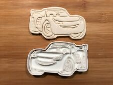 Lightning Mcqueen 009 Biscuit Cookie Cutter Fondant Cake Decorating UK seller
