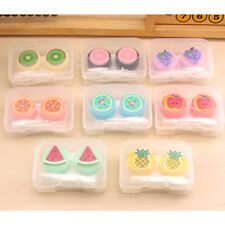 Contact Lens Box Creative Travel Portable Case Eyes Care Storage Kit Container