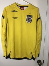 ENGLAND FOOTBALL GOALKEEPER JERSEY by Umbro - Size M